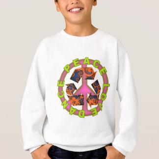 平和愛ダンス スウェットシャツ