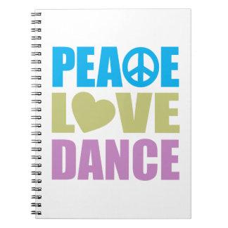 平和愛ダンス ノートブック