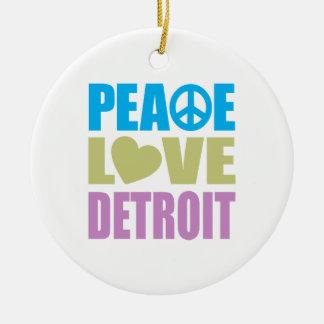 平和愛デトロイト セラミックオーナメント