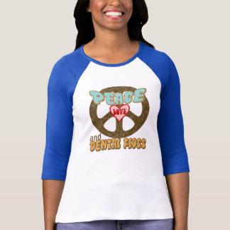 平和愛デンタルフロスのヴィンテージ Tシャツ