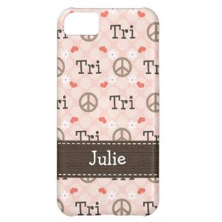 平和愛トライアスロン iPhone5Cケース