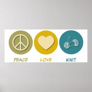 平和愛ニット ポスター