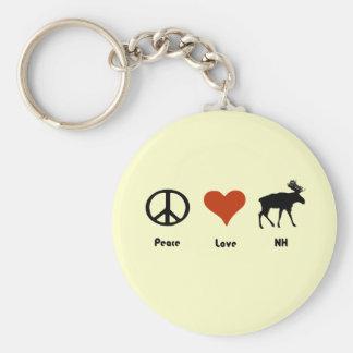 平和愛ニューハンプシャー キーホルダー