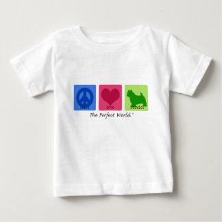 平和愛ノリッジテリア ベビーTシャツ