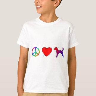 平和愛ハリアー Tシャツ