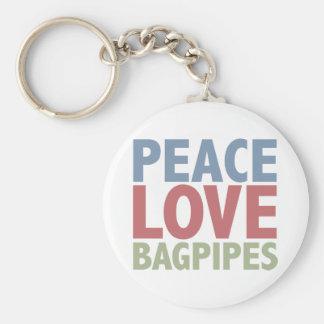 平和愛バグパイプ キーホルダー