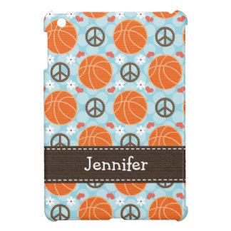平和愛バスケットボール iPad MINI カバー
