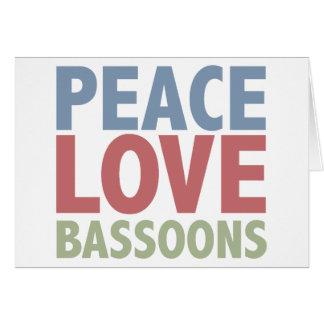 平和愛バスーン カード