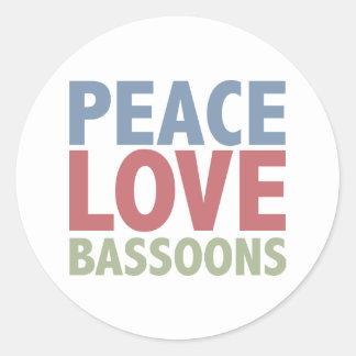 平和愛バスーン ラウンドシール