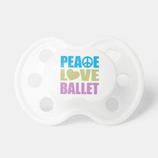 平和愛バレエ おしゃぶり
