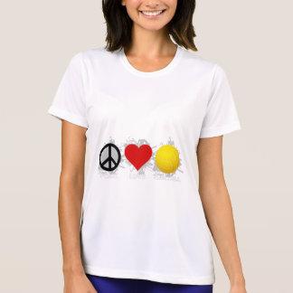 平和愛バレーボールの紋章2 Tシャツ