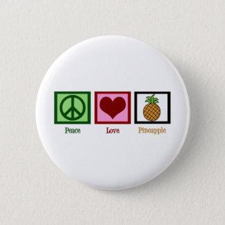 平和愛パイナップル 5.7CM 丸型バッジ