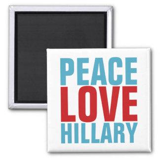 平和愛ヒラリー マグネット