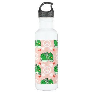 平和愛フィットネスのスニーカーBPAは放します ウォーターボトル