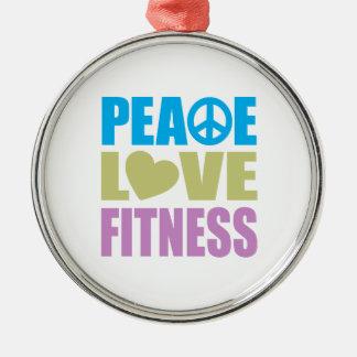 平和愛フィットネス メタルオーナメント