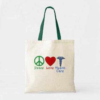 平和愛ヘルスケアプロダクト トートバッグ
