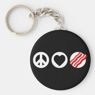 平和愛ベーコン キーホルダー