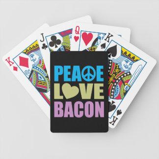 平和愛ベーコン バイスクルトランプ