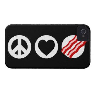 平和愛ベーコン Case-Mate iPhone 4 ケース