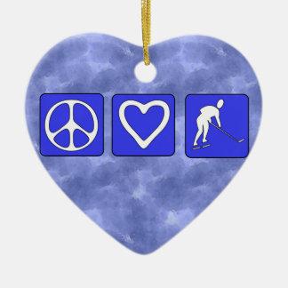 平和愛ホッケー セラミックオーナメント