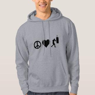平和愛ボクシング パーカ