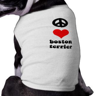 平和愛ボストンテリア ペット服