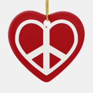 平和愛ボブ セラミックオーナメント