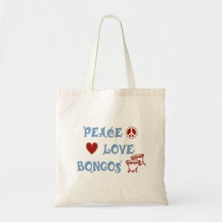 平和愛ボンゴ トートバッグ