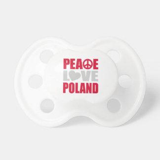 平和愛ポーランド おしゃぶり