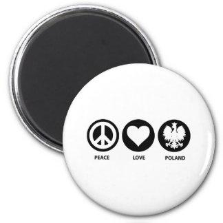 平和愛ポーランド マグネット