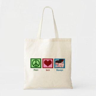 平和愛マッサージ トートバッグ