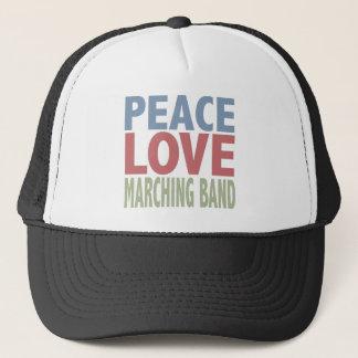 平和愛マーチングバンド キャップ