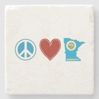 平和愛ミネソタ ストーンコースター
