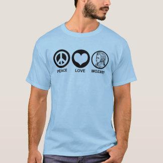 平和愛モーツァルト Tシャツ