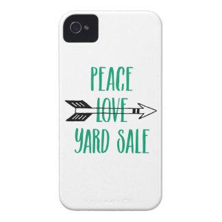 平和愛ヤードセールの矢ライン Case-Mate iPhone 4 ケース