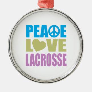 平和愛ラクロス メタルオーナメント