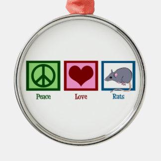 平和愛ラット メタルオーナメント