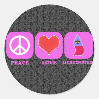 平和愛リキテンスタイン ラウンドシール