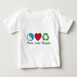 平和愛リサイクル ベビーTシャツ