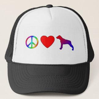 平和愛ルイジアナCatahoulaのヒョウ犬 キャップ
