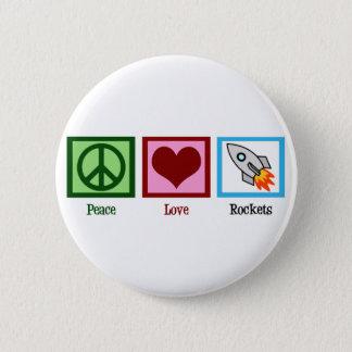 平和愛ロケット 缶バッジ