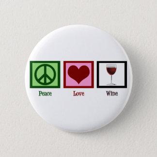 平和愛ワイン 5.7CM 丸型バッジ