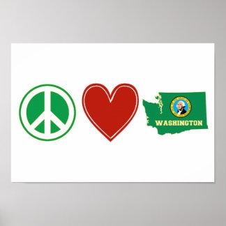 平和愛ワシントン州 ポスター