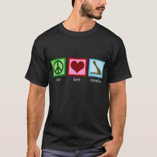 平和愛ワニ Tシャツ