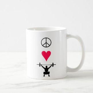 平和愛上昇-マグ コーヒーマグカップ