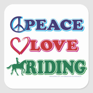 平和愛乗馬 スクエアシール
