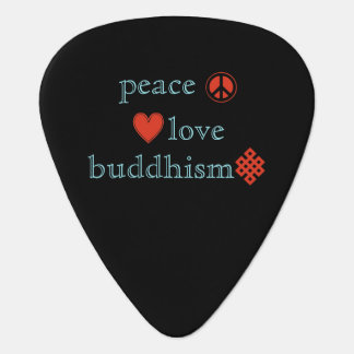 平和愛仏教 ギターピック