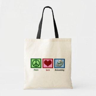 平和愛会計 トートバッグ