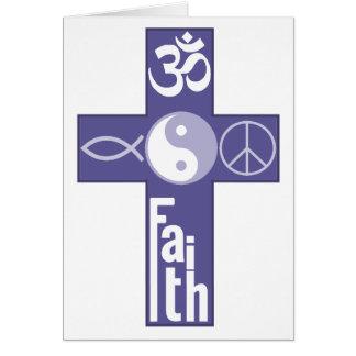 平和愛信頼のナマステカード カード