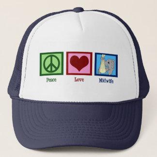 平和愛助産婦 キャップ